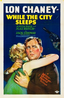 Affiche du film While the City Sleeps