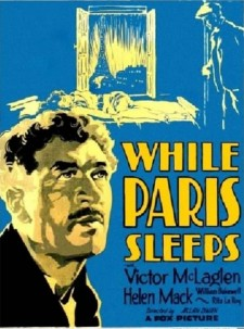 Affiche du film While Paris Sleeps