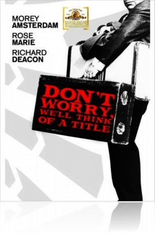 Affiche du film Don't Worry, We'll Think of a Title