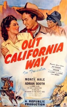 affiche du film Out California Way