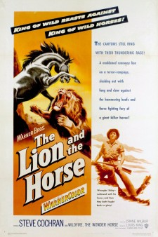 Affiche du film The Lion and the Horse