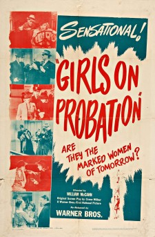 Affiche du film Girls on Probation