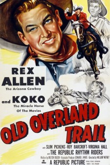 Affiche du film Old Overland Trail
