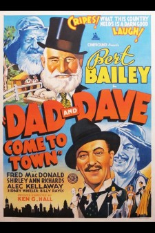 Affiche du film Dad and Dave Come to Town