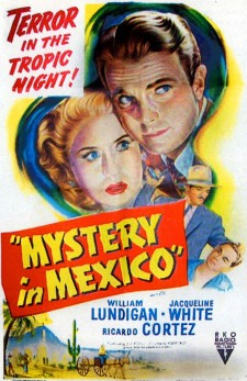 Affiche du film Mystery in Mexico