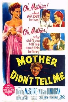 Affiche du film Mother Didn't Tell Me
