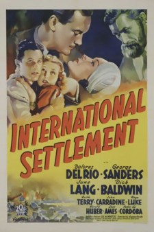 Affiche du film International Settlement