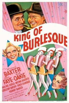 Affiche du film King of Burlesque