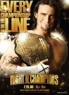 Affiche du film WWE Night of Champions 2009