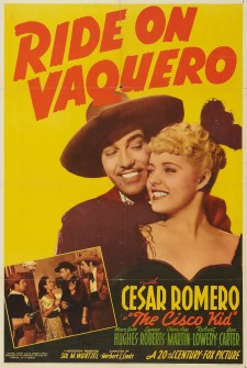 Affiche du film Ride on Vaquero