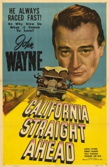 Affiche du film California Straight Ahead