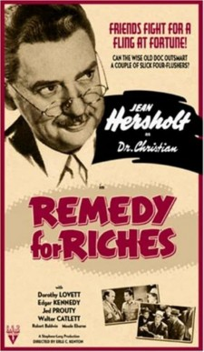 Affiche du film Remedy for Riches