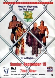 Affiche du film WCW Fall Brawl 1996