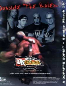 Affiche du film WCW Uncensored 2000