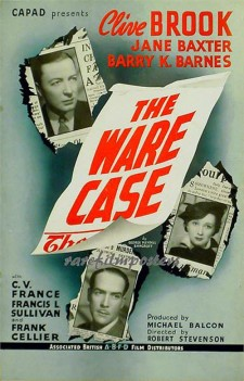 Affiche du film The Ware Case