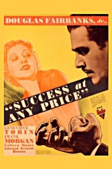 Affiche du film Success At Any Price