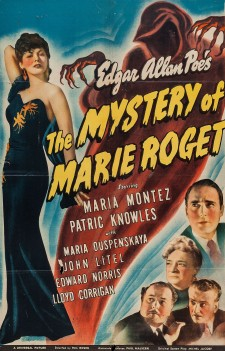 Affiche du film The Mystery of Marie Roget