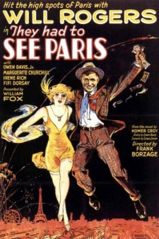 Affiche du film They Had to See Paris
