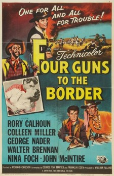 Affiche du film Four Guns to the Border