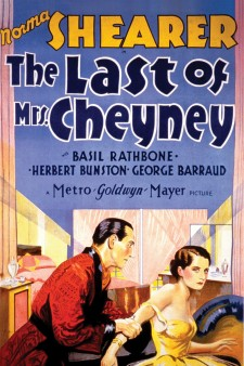 Affiche du film The Last of Mrs. Cheyney