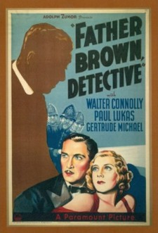 Affiche du film Father Brown, Detective