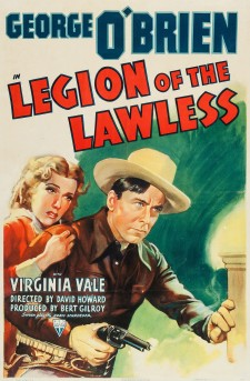 Affiche du film Legion of the Lawless
