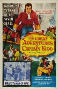 Affiche du film The Great Adventures of Captain Kidd