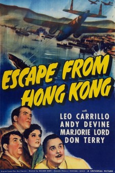 Affiche du film Escape from Hong Kong