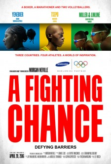 Affiche du film A Fighting Chance