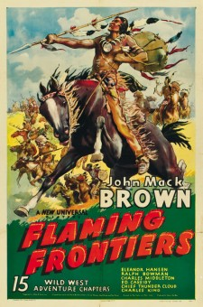 Affiche du film Flaming Frontiers