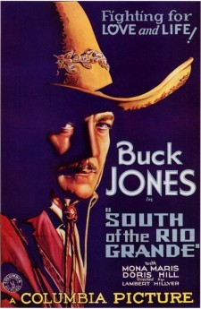 Affiche du film South of the Rio Grande