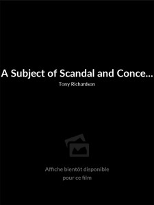 A Subject of Scandal and Concern