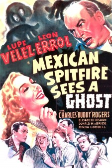 Affiche du film Mexican Spitfire Sees a Ghost