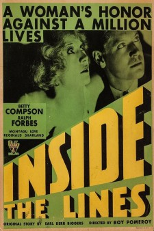 Affiche du film Inside the Lines