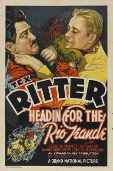 affiche du film Headin' for the Rio Grande