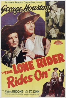 Affiche du film The Lone Rider Rides On