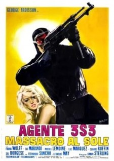 Agent 3S3, Massacre in the Sun