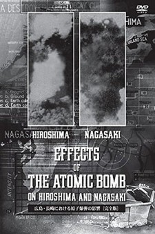 Affiche du film The Effects of the Atomic Bomb on Hiroshima and Nagasaki