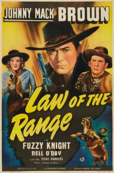 Affiche du film Law of the Range
