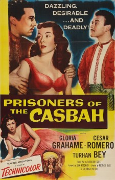 Affiche du film Prisoners of the Casbah