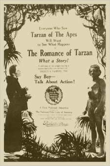 Affiche du film The Romance of Tarzan