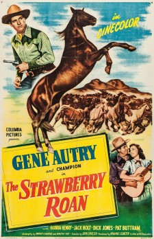 Affiche du film The Strawberry Roan