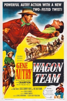 affiche du film Wagon Team