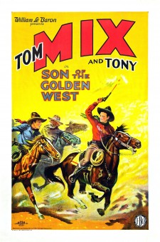 Affiche du film The Son of the Golden West