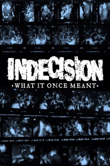 Affiche du film Indecision: What It Once Meant