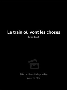 Affiche du film Le train où vont les choses