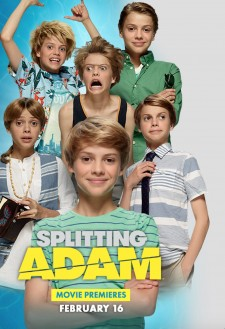 Affiche du film Splitting Adam