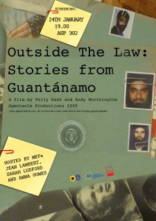 Affiche du film Outside the Law: Stories from Guantánamo