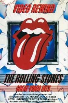 Affiche du film Video Rewind: The Rolling Stones' Great Video Hits