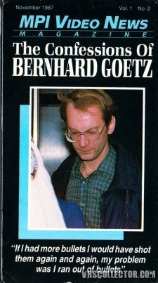 The Confessions of Bernhard Goetz